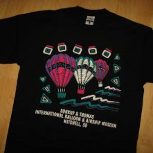 Soukup & Thomas Ballon Museum Vintage T Shirt Lg
